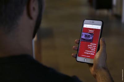 Já imaginou assistir os jogos da Champions League no celular?