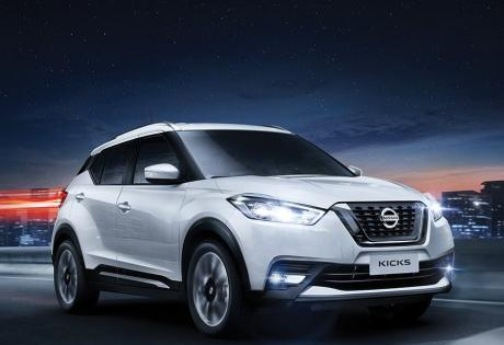 O Nissan Kicks representa alta porcentagem das vendas da marca no Brasil