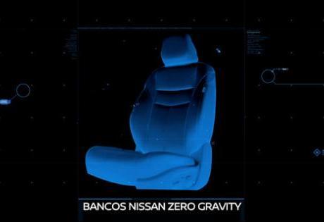 Novos bancos Zero Gravity da Nissan, podem ser usados em escritórios!