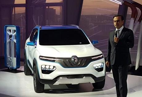 Renault aposta em KWID Elétrico para propagar a Tecnologia