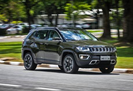 Jeep Compass responde por quase metade das vendas dos SUV em Setembro