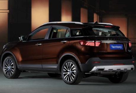 Ford Territory: O novo SUV da FORD