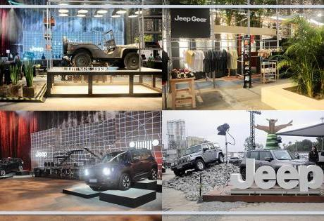 Muita história e Atrações no espaço da Jeep Brasil no SPFW