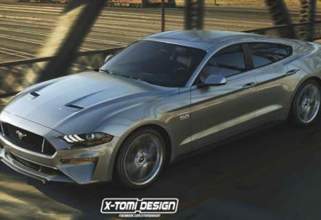 Mustang de 4 portas estaria sendo desenvolvido pela Ford