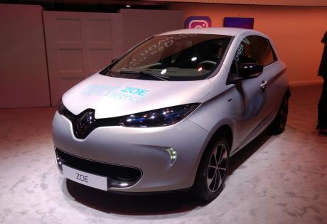 O Elétrico Renault Zoe é Lançado no País