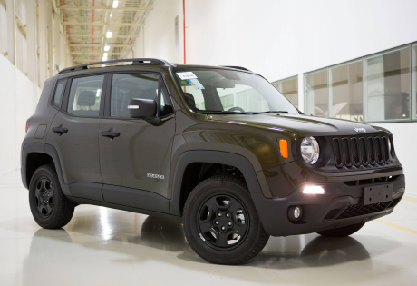 Nova versão a diesel do Jeep Renegade