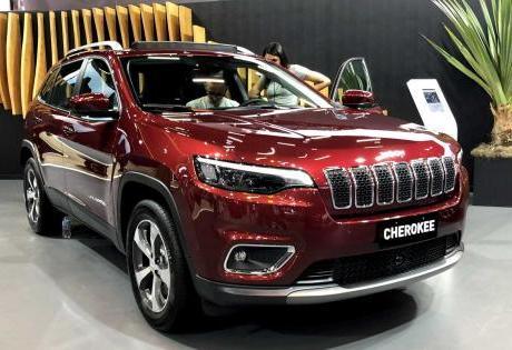 Novo Visual do Jeep Cherokee 2019