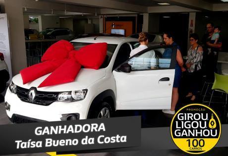 Girou, Ligou, Ganhou, maior promoção da Renault no Brasil