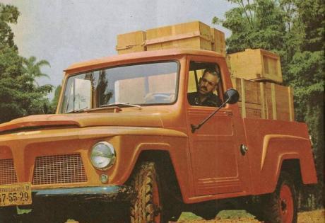 A Picape Jeep Brasileira Gladiator