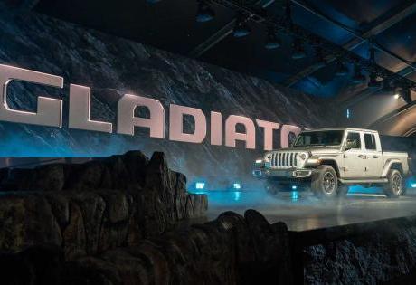 A Nova Picape Jeep Gladiator já está sendo registrada no País