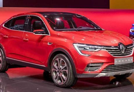 O Renault Arkana já tem patente no INPI