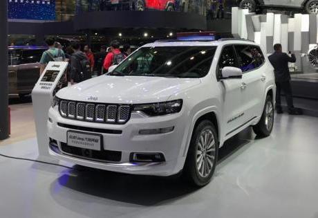 SUV de 7 Lugares da Jeep maior que Grand Cherokee