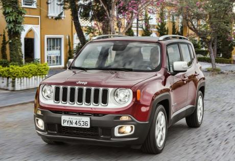 Jeep Renegade tem grande recuperação no mercado e  lidera vendas SUV's em agosto