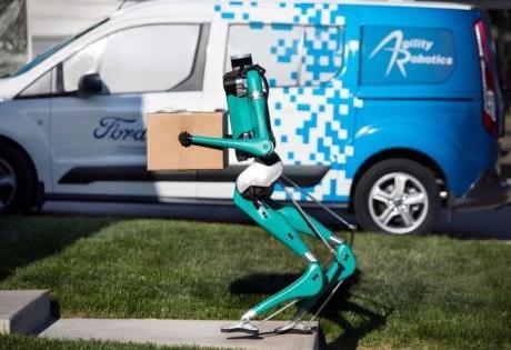 Robô Bípede da Ford é Capaz de Realizar Entregas