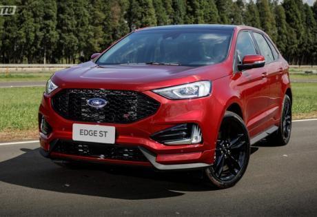 Com DNA esportivo em uma carroceria SUV,  Conheça o Ford Edge ST