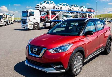 50 Mil Veículos Produzidos no Brasil para Exportação são Atingidos pela Nissan
