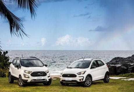 Os Novos Aventureiros da Ford, Ka e EcoSport FreeStyle 2020
