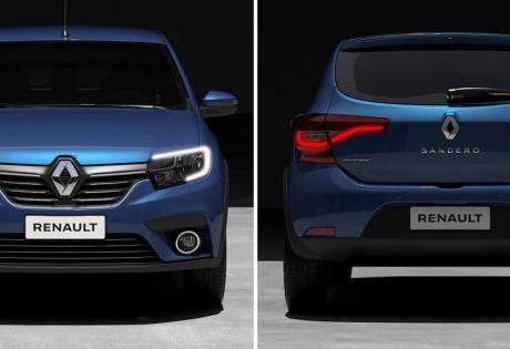 Primeiras Fotos do Sandero 2020 são Mostradas pela Renault