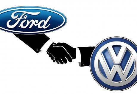 Ford e VW Pretendem Fazer Parceria para Compartilhar Tecnologias de Carros Elétricos e Autônomos.