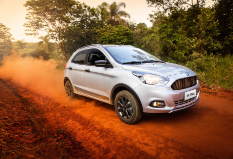 Ford lança novo Ka Trail 2017