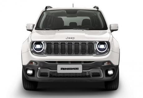 Lanternas de LED do Modelo Europeu para Jeep Renegade no Brasil