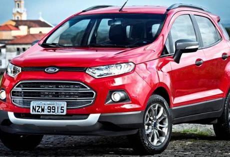 Entre os Usados a Ford EcoSport foi muito bem no 1º Semestre