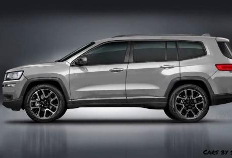 Testes do Jeep Grand Cherokee 2021 Aparecem Pela Primeira Vez