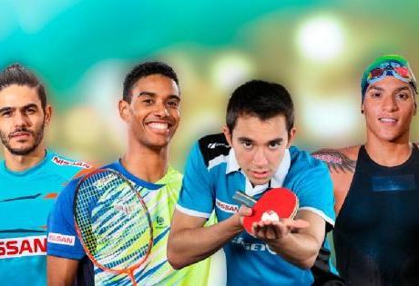Time de Atletas da Nissan Comemoram Inéditas Medalhas nas Olimpiadas