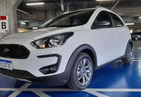 Opção Urbana Robusta, Veja o Ford Ka 1.0 FreeStyle