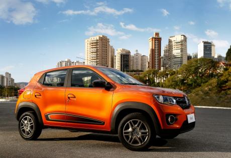 Renault Kwid supera Mobi e Up! na primeira quinzena do mês