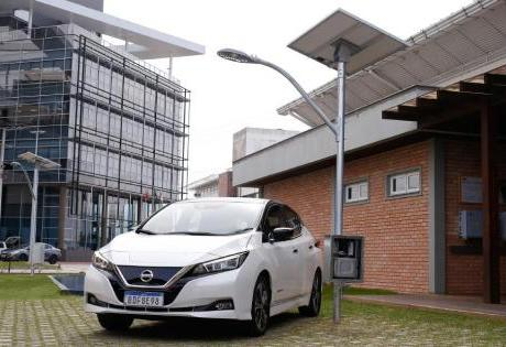 Baterias de Segunda Vida do Leaf Serão Testadas pela Nissan e UFSC