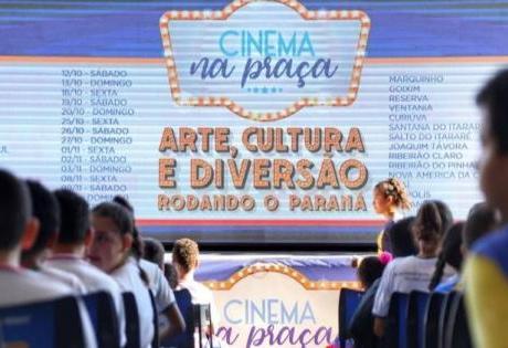 Com o Apoio do Instituto Renault o Governo do Paraná Promove Sessões de Cinema ao Ar Livre