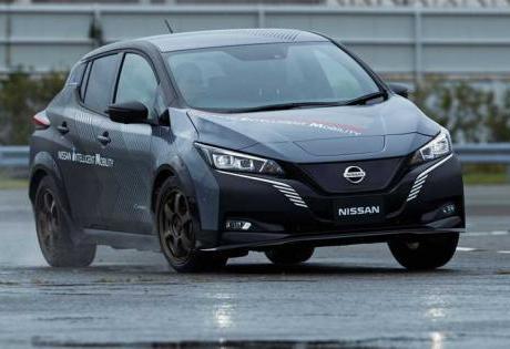 Dois Motores e Tração Integral, Confira o Nissan Leaf Esportivo