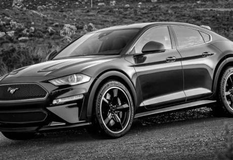Pronto para a Estreia o SUV Elétrico do Ford Mustang Aparece