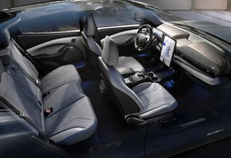Novas Tecnologias do Mustang Mach-E  São Exibidas pela Ford na CES 2020