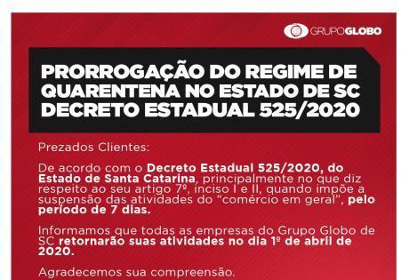 Retorno das atividades da Globo Nissan devido ao Coronavirus
