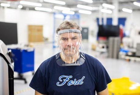 No combate ao coronavírus a Ford vai produzir máscaras de proteção facial