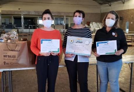 Distribuição de Máscaras é Apoiada pela Instituição Renault no Paraná