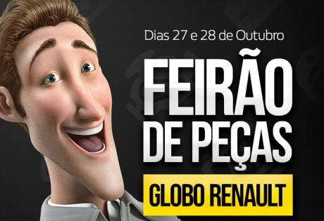Feirão de Peças Globo Renault