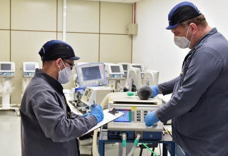 Renault Recupera Respiradores e Ambulâncias que Estavam fora de Operação