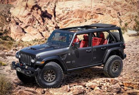 Novo Carro Conceito Wrangler Rubicon 392 6.4l V8 é Apresentado pela Jeep