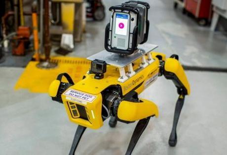 Para Escanear suas Fábricas Ford usa Cães Robôs de Quatro Patas