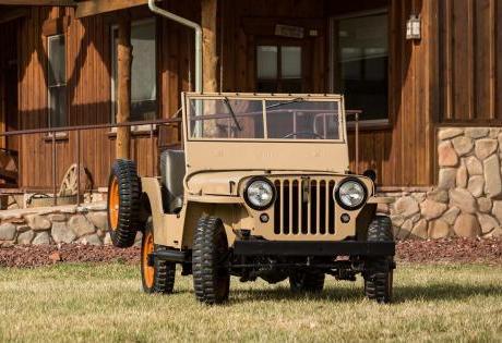 Completando 75 Anos do Primeiro Jeep Civil CJ2A
