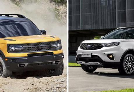 Territory e Bronco Confira as Principais Diferenças