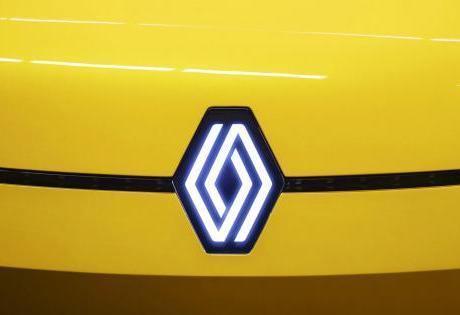 Renault com novo logo que começará a ser utilizado em automóveis no ano de 2022