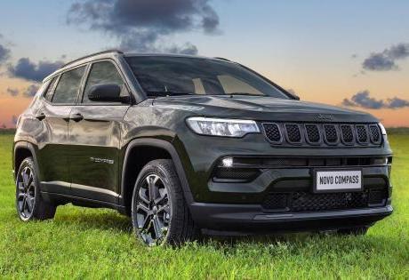 Novo Jeep Compass 2022 é mostrado e abre pré venda