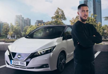 Jogador profissional de futebol, se une ao movimento elétrico da Nissan