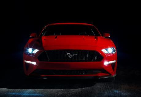 As primeiras imagens do novo Mustang Shelby GT500 que terá mais de 700 cv, são reveladas