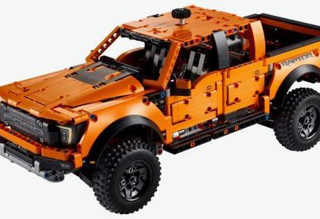 Ford F-150 em versão Lego