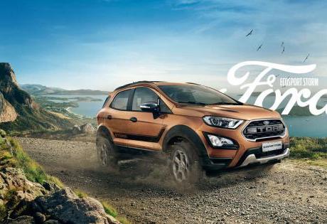 Ford EcoSport Storm oferece visual exclusivo e tração 4×4